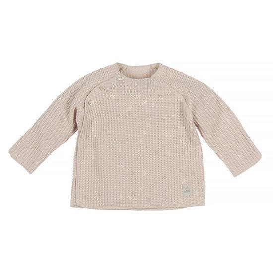 Nanami Nanami baby trui knit rib naturel