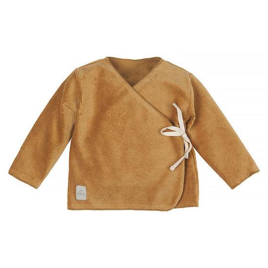 Nanami Nanami baby trui ribvelvet sand