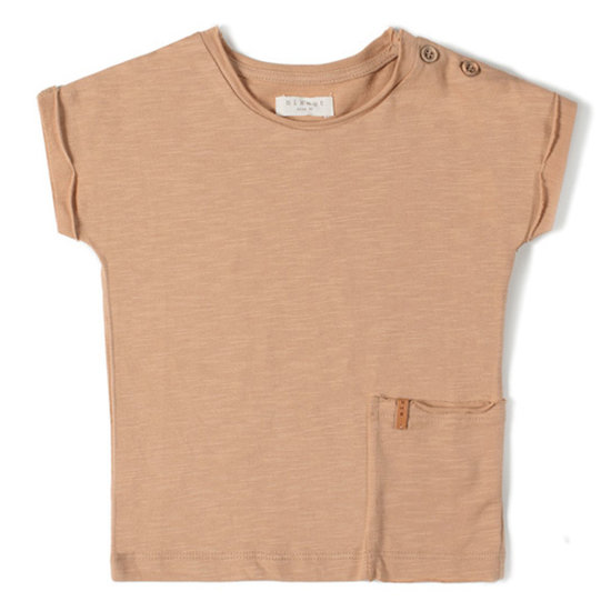 Nixnut Nixnut t-shirt short sleeve nude