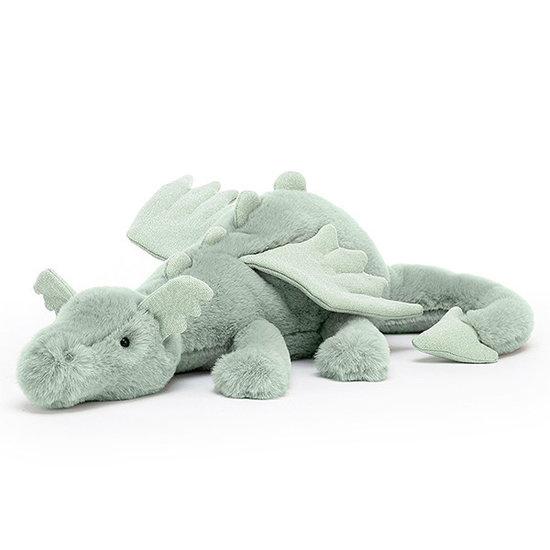 Jellycat Jellycat knuffel draak Sage dragon Medium