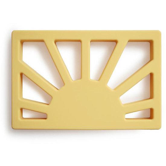 Mushie Mushie teether Sun mutted yellow