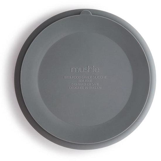 Mushie Mushie silicone suction plate Stone