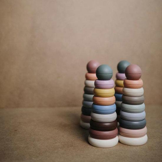 Mushie Mushie stapeltoren - ringtoren Original