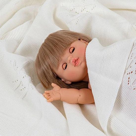 Minikane Babypop meisje Sleepy-eyed Zoé - Paola Reina