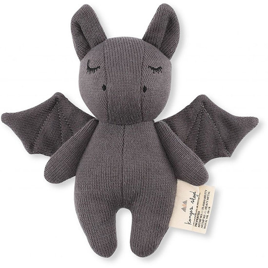 Konges Slojd Rammelaar Mini Bat grey - Konges Sløjd