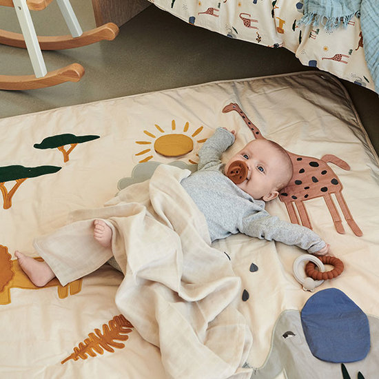 Liewood Liewood Glenn play mat baby Safari sandy mix