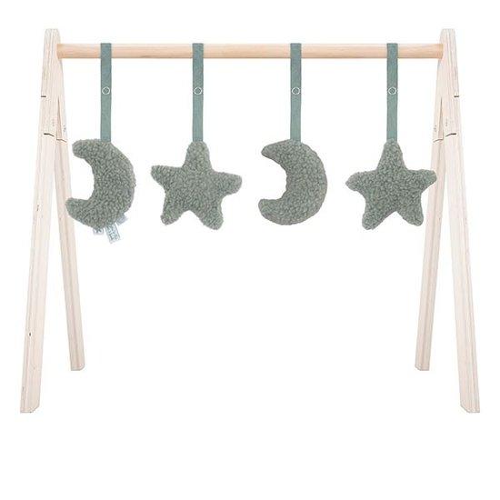 Jollein Jollein babygym speelgoed Moon ash green