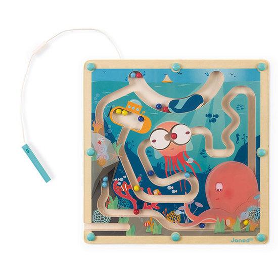 Janod speelgoed Janod magnetic maze Ocean