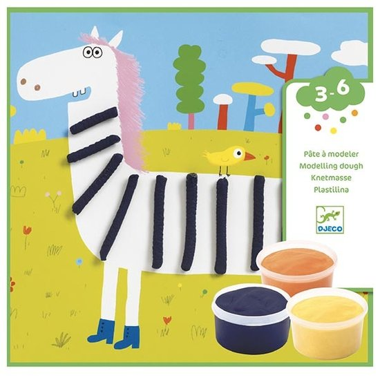 Djeco Djeco modeling clay patterns 3-6 yrs