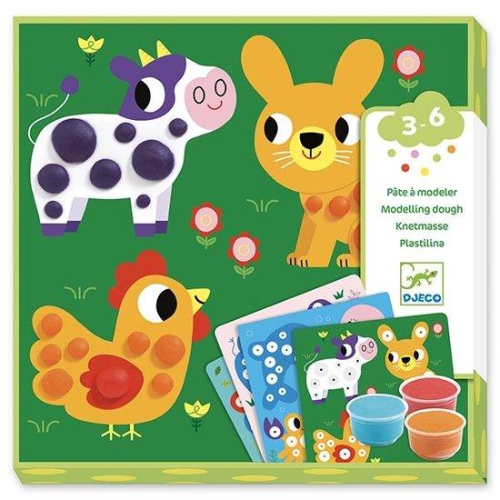 Djeco Djeco boetseerklei dieren 3-6 jr