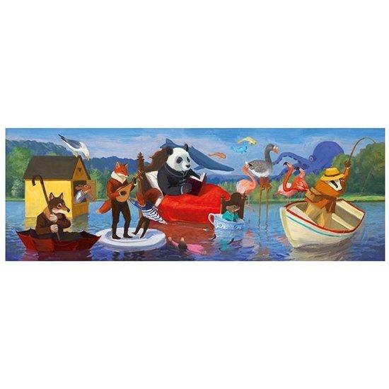Djeco Djeco puzzel Summer Lake 1 Meter +7jr 350st