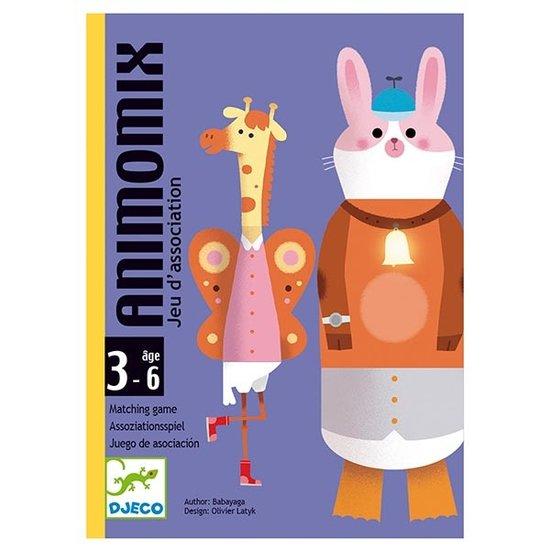 Djeco Djeco kaartspel Animomix +3jr