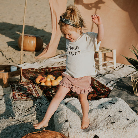 Sproet en Sprout Sproet & Sprout kids shorts Ruffle Mini Check