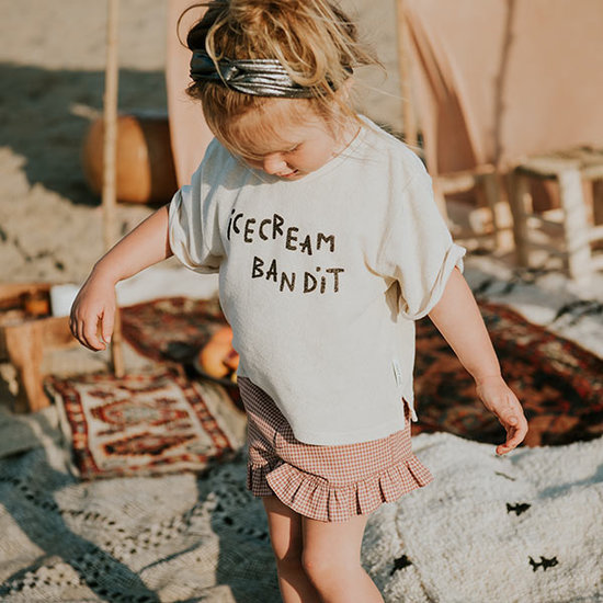 Sproet en Sprout Sproet en Sprout short Ruffle Mini Check
