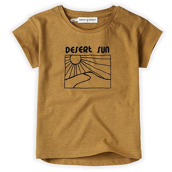 Sproet en Sprout Sproet en Sprout t-shirt korte mouw Desert Sun