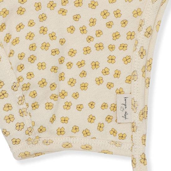 Konges Slojd Babymutsje Newborn Buttercup Yellow - Konges Slojd