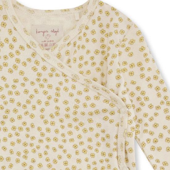 Konges Slojd Konges Slojd onesie Newborn Buttercup Yellow