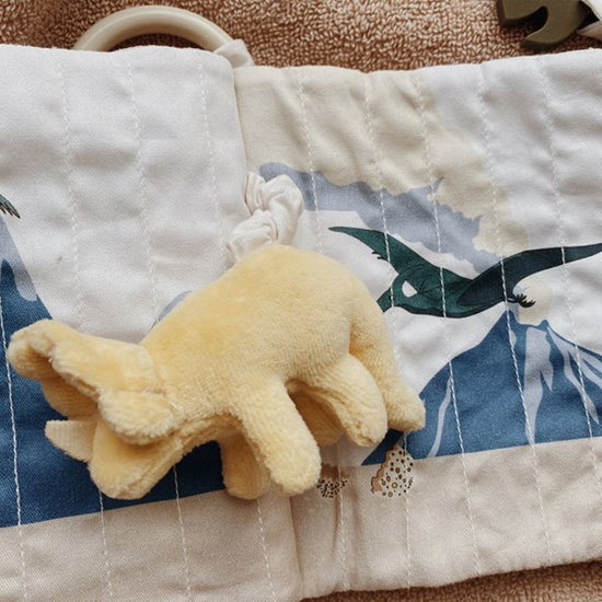 Konges Slojd Konges Slojd stoffen babyboekje Dino