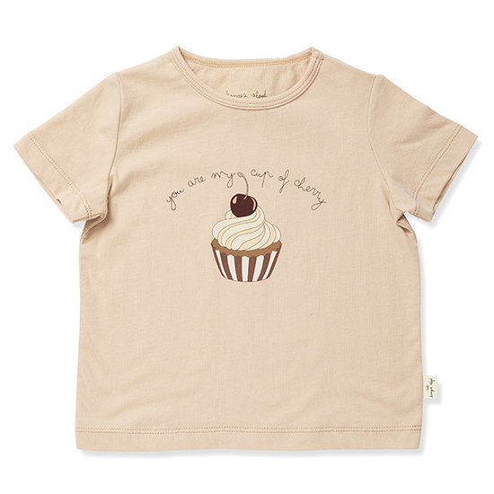 Konges Slojd Konges Slojd Famo t-shirt korte mouw Moonlight
