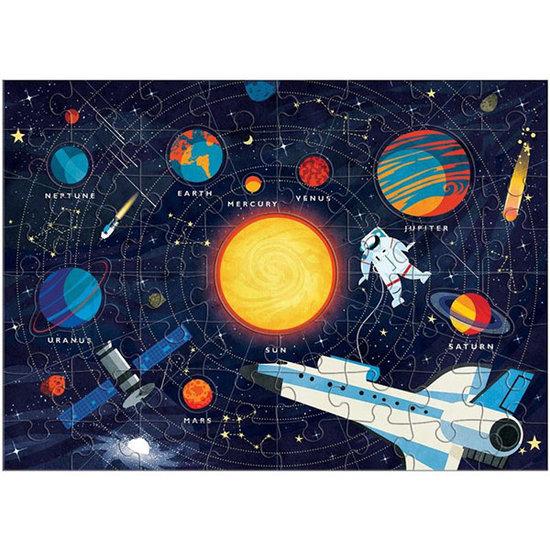 Mudpuppy Mudpuppy puzzel zonnestelsel 70 stukjes