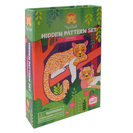Tiger Tribe Tiger Tribe kleurset verborgen patronen - dieren