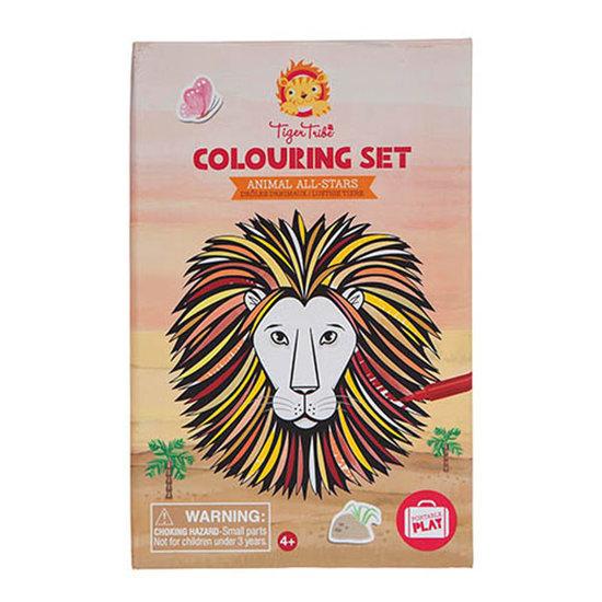 Tiger Tribe Tiger Tribe colouring set - Animals All Stars