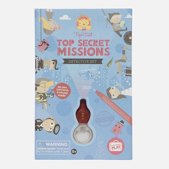 Tiger Tribe Tiger Tribe detective set - Top Secret Missions