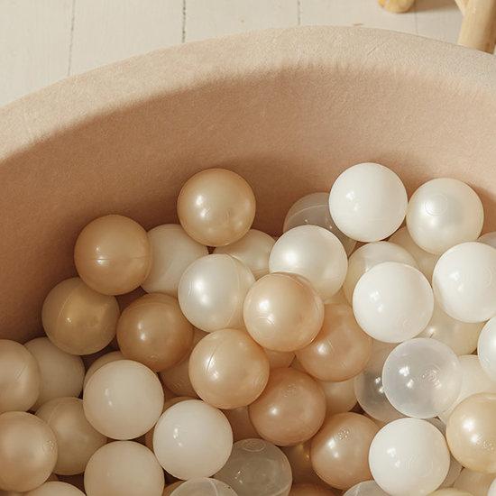 Moje Ball pit velvet beige 90x40 +balls - Moje