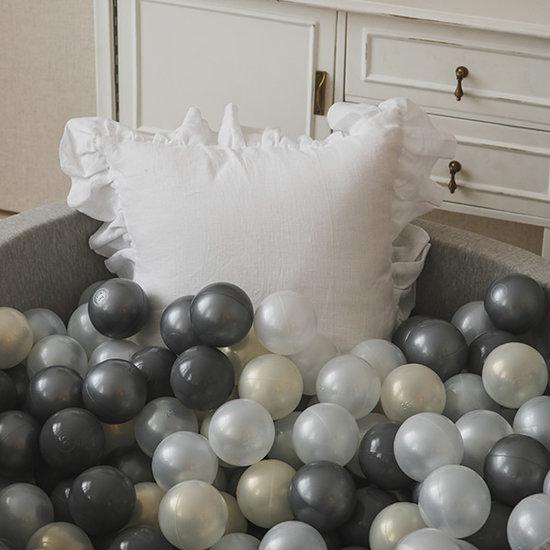 Moje Ballenbad light grey 90x40 cm incl. ballen - Moje
