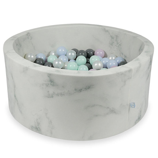 Moje Ballenbad Marble 90x40 cm incl. ballen - Moje