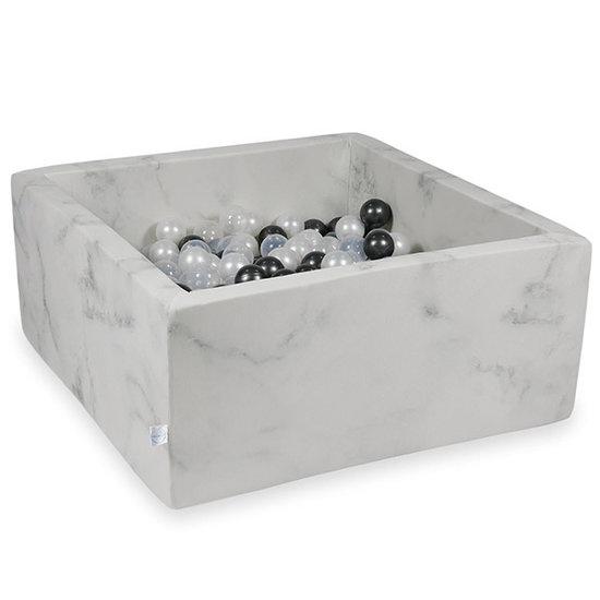 Moje Ballenbad Marble 90x90x40 incl. ballen - Moje