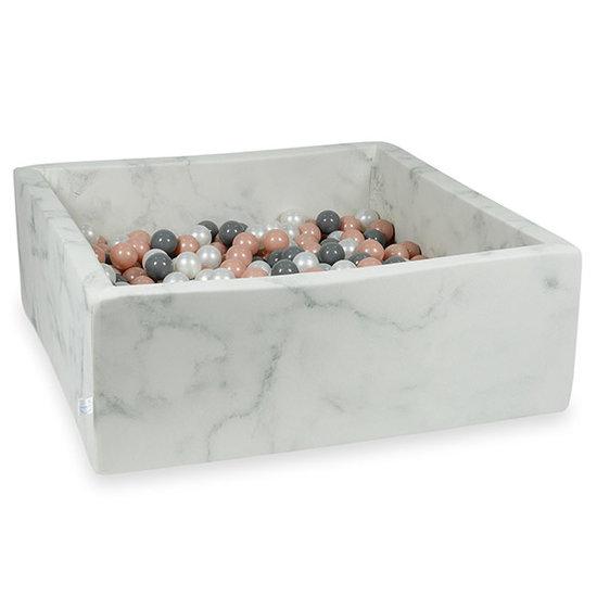 Moje Ballenbad Marble 110x110x40 incl. ballen - Moje