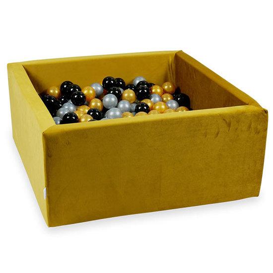 Moje Ballenbad velvet gold 90x90x40 incl. ballen - Moje