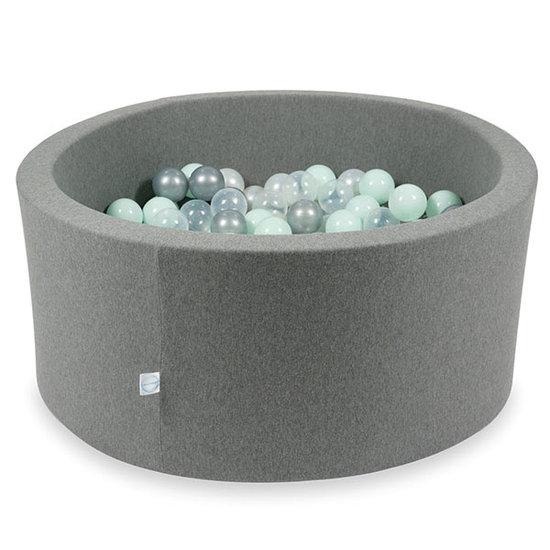 Moje Ballenbad grey 90x40 cm incl. ballen - Moje