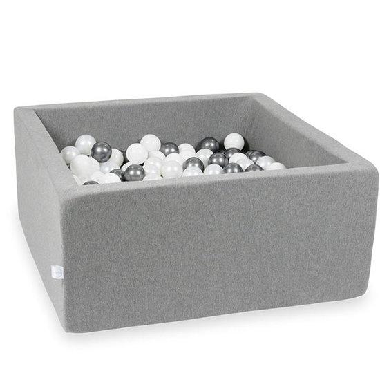 Moje Ballenbad grey 90x90x40 incl. ballen - Moje