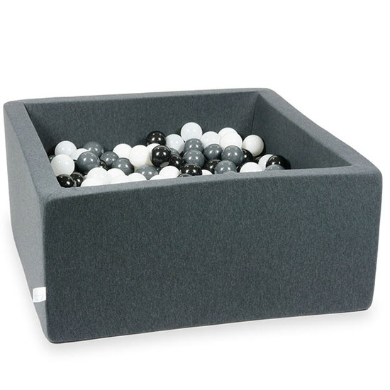 Moje Ballenbad graphite 90x90x40 incl. ballen - Moje
