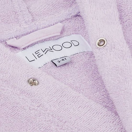 Liewood Badjas Cat light lavender - Liewood