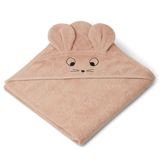 Liewood Badcape Augusta Mouse pale tuscany 100cm - Liewood