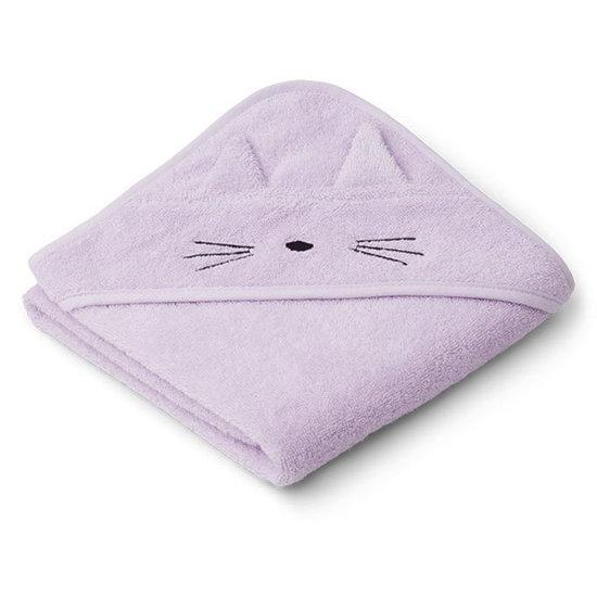 Liewood Badcape Albert Cat light lavender 70cm - Liewood