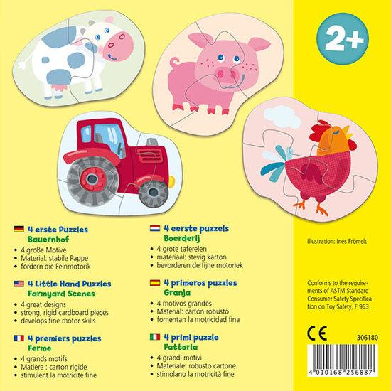 Haba Haba 4 eerste puzzels - Boerderij