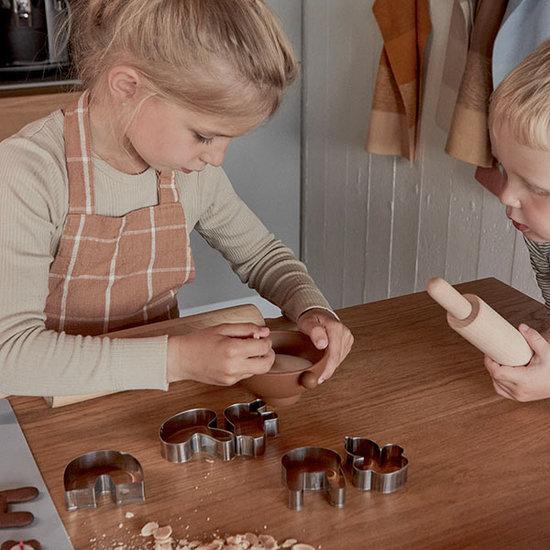 OYOY OYOY Gobi kinderschort - Caramel