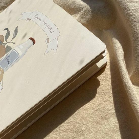 Konges Slojd Konges Slojd babyboekje Bon Appetit
