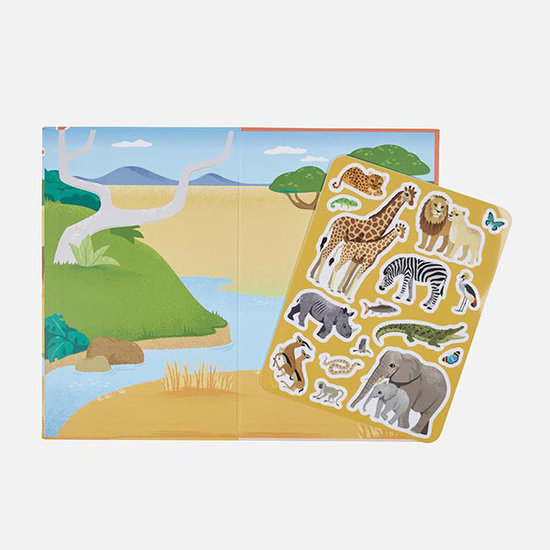 Tiger Tribe Tiger Tribe stickerboek African Safari