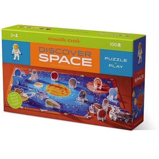 Crocodile Creek Crocodile Creek puzzel Discover Space 100st