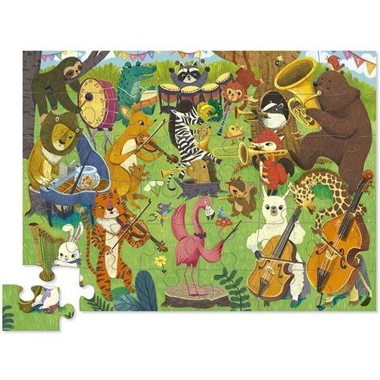 Crocodile Creek Crocodile Creek puzzel Animal Orchestra 36 stukjes