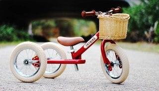 Een loopfiets die meegroeit met je kind - Trybike