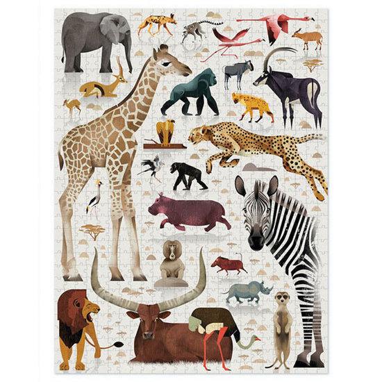 Crocodile Creek Crocodile Creek puzzel wereld van afrikaanse dieren