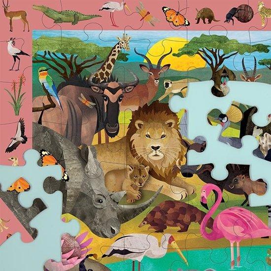 Mudpuppy Mudpuppy observatiepuzzel African Safari 64st
