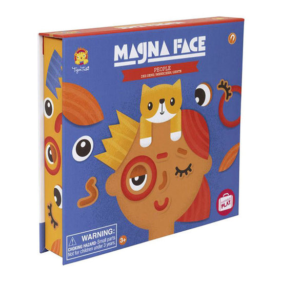 Tiger Tribe Tiger Tribe magneetboek Magna Face People