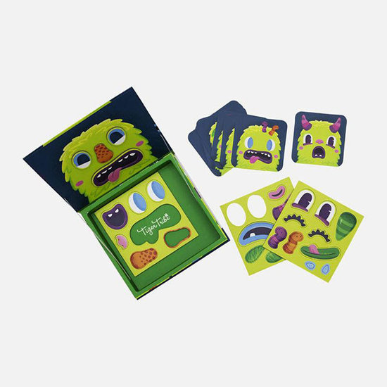 Tiger Tribe Tiger Tribe magneetboek Magna Face Monsters